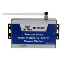 auto environment - GSM SMS Temperature Humidity Alarm Environment Remote Monitoring Power Status Timer APP With Network Antenna King Pigeon RTU5023