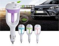 Wholesale Nanum ml Portable Mini Car Humidifier Air Purifier Essential Oil Diffuser Aroma Mist Maker Car Fragrance Fresh Supplies