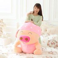 achat en gros de mcdull cochon en peluche poupée-Fruit McDull Pig Peluche Toy Poupée de cochon Valentine cadeau d'anniversaire McDull Valentin cadeau poupée