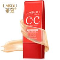 aqua cosmetics - LaiKou Aqua CC Cream Concealer Foundation Cream nude makeup moisturizing milk Wei Shida cosmetics manufacturers recruit agents