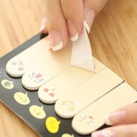 Wholesale sets Creative Paper Sticker Sticky Notes Stationery School Memo Pad Writing Supplies Papelaria