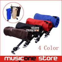 Wholesale Drum Sticks Holders Black Brown Red Blue Nylon Clip On Stand Drumsticks Cases Drummer Accessories New