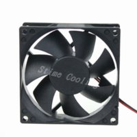 Wholesale 1pcs DC V CM MM Computer Case Cooler Cooling x80x25mm Fan fan fans double fan ceiling fan