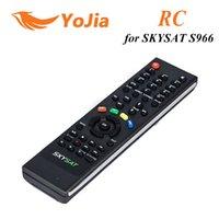 Wholesale 1pc Remote Control for Original AZSAT S966 iks sks satellite receiver SKYSAT S966 remote control post order lt no track