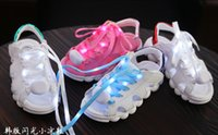 Wholesale LED baby summer sandals new kids beach sandals non slip wear years children s casual shoes in stock pair C9
