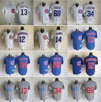 baseball bank - Chicago Cubs Game Ernie Banks Jon Lester Baseball Jerseys Jorge Soler Kyle Schwarber Starlin Castro Home Blue White Gray