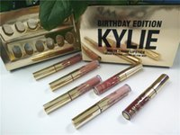 Wholesale Newest kylie birthday Kylie Jenner Lipkit In LEO Limited Birthday Edition CONFIRMED Matte Lipstick High Quality