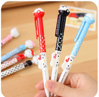 activities writing - Fashion Hello Kitty Automatic pen mechanical pencil Activities of pen for school students writing mm pencil
