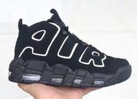 Wholesale Shoes Big Rhinestones - Big Air More Uptempo OG Scottie Pippen 414962-002 Olympic Basketball Sports Shoes Adult Athletic Shoes Size 41-47