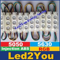 waterproof module - Injection ABS Plastic W RGB Led Modules Waterproof IP65 LEDs Led Storefront Light Angle CE ROHS UL SAA