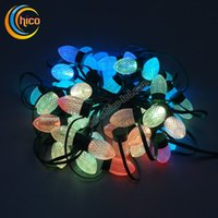Wholesale Projector Christmas LED String Light Christmas lights Party Light With IC WS2811 DC12V waterproof IP68 Wedding Decoration
