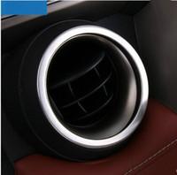 Wholesale Car ABS Chrome Air vent trim decoration for Toyota RAV4 RAV auto accessories