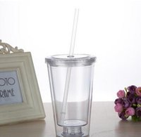 Wholesale Maars Classic Insulated Tumblers clear plastic tumblers with straws Double Wall Acrylic