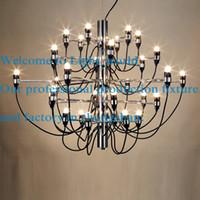 arteluce lamp - Arteluce Gino Sarfatti designed Chandelier Pendant Droplight Bulbs Lamp Light Lighting For Living Room Hotel
