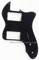 Wholesale For US Classic Player Tele Deluxe Guitar Pickguard Ply Black