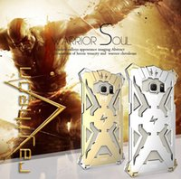 Wholesale 2016 Newest Fashion Heavy duty Aluminum Metal shockproof Armor case for iphone Plus