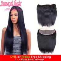 Wholesale 7A cheap brazilian human hair closure free part x4 peruvian Malaysian indian chinese human hair straight Swiss lace natural color closure