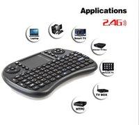 Télécommande pour tablette android France-Mini clavier sans fil Rii i8 2.4GHz Air souris clavier Touchpad télécommande pour Android Box TV 3D Tablet Tablet PC