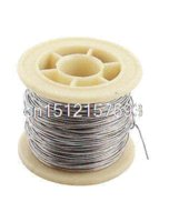 Wholesale 15M mm AWG20 Gauge Nichrome Resistance Resistor Wire for Heating Elements wire decor wire shutter