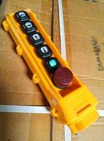 Wholesale Rainproof crane push button switch Single speed hoist switches