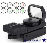 Wholesale Racer Tactical Holographic Reticle Red Green Dot Tactical Reflex Sight Scope with Mount for Gun mm New