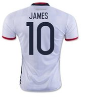 football wear - Thai Quality Customized Colombia Valderrama Home Soccer JerseyS Shirt Discount Cheap James Football Jersey Aguilar Soccer Wear