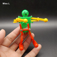Wholesale Creative Cute Robot Toy Clockwork Spring Wind Up Walking Dancing Children Kids Gifts