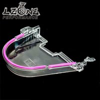 Wholesale LZONE RACING CLEAR CAM GEAR COVER TIMING BELT COVER TURBO CAM PULLEY WITH LOGO FOR HONDA EK JR6337