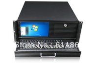 Wholesale 4u industrial computer case u computer case belt lcd screen keyboard