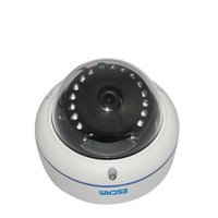 Wholesale ESCAM Q645R Outdoor IP Monitor High Clear Waterproof Wireless Monitor Infrared Dome Camera New House Gift