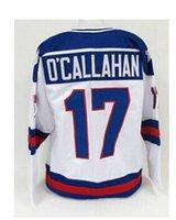 usa hockey jersey - Customized Jack O Callahan Olympic USA MIRACLE Hockey Jersey Stitched White O Callahan USA MIRACLE Hockey jerseys