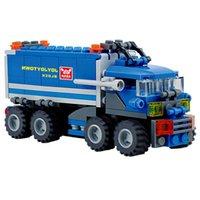 Wholesale Child Educational Toys Dumper Truck DIY Toys Building Block Sets K5BO