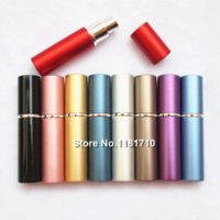 Wholesale 500pcs High Quality ml Metal Perfume Bottle Parfum Atomizer Refillable Empty Fragrance Bottle Aluminum Spray Bottle bottle plant