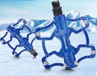 Wholesale Kingsir Bike Pedals Ultralight Aluminum Alloy Mountain Bike Folding Bike Dead Fly Road BMX Peilin Bearing Footboard Riding Accessories