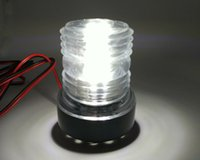anchor light boat - WHITE NAV ANCHOR LED BULB MARINE BOAT YACHT ANCHOR NAVIGATION LIGHT V