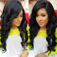 Wholesale new Brazilian Human Hair Full Lace Wig Unprocessed human hair lace Wig for Black African Amercian