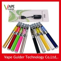 Wholesale Ego T Ce4 starter kit blister pack v ego t battery with ml ohm ce4 vaporizer tank clearomizer dhl free