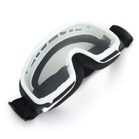 ski goggles glasses - Motorcycle Motocross Enduro Helmet Ski Snoboard Protective Glasses Goggle White