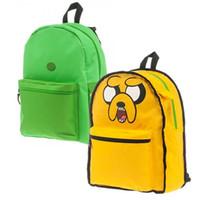adventure time bag - adventure time backpack original lime green finn backpack bag w Hat knapsack in stock student backpack school bag adventure time backpack