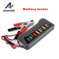 Wholesale High Quality Tirol V Digital Battery Alternator Tester with LED Lights Display Car Vehicle Battery Diagnostic Tool