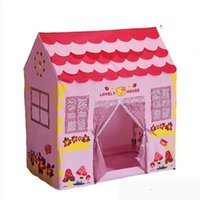 Wholesale Children Tent Pink Princess House Game House Children Gift Toy House Indoor