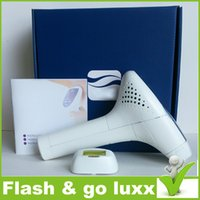 Wholesale NEW Arrival Epilator Flash Go Luxx Hair Removal take off hair Device Flashes factory sealed market DHL big pack