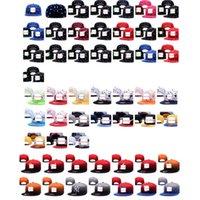 Precio de Sombreros de béisbol en blanco snapback-Snapback al por mayor de sombreros en blanco personalizadas Béisbol barato Equipada gorras sombrero para los hombres y las mujeres deportistas Sombreros Aceptar orden de la mezcla