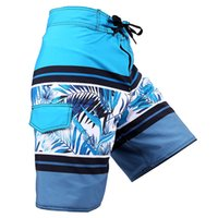 Wholesale Mens Board Shorts Floral Swimwear Swimming Trunks Water Sports Bermuda Boardshorts Surf Beach Summer Swimuit Men Short Masculino