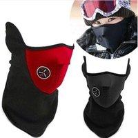 Wholesale Outdoor Cycling mask windproof Cool ride bike mask winter Warm Dust Proof anti fog half face CS mask motorcycle ski sport masks