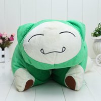 anime manga figure - Pikachu Snorlax Pillow Plush Doll Toys Figure inches Stuffed Anime Manga Birthday Present Gift