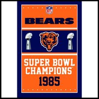 Wholesale High Quality Bears Championship Flag ft x ft Banner D Polyester Flag metal Grommets Factory