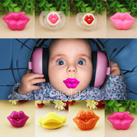 Wholesale 3pcs Top Silicone Funny Nipple Dummy Baby Soother Joke Prank Toddler Pacy Orthodontic Nipples Teether Baby Pacifier Care