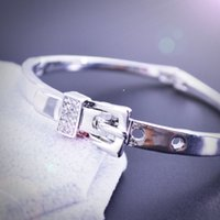 american indian belt buckles - 2016 export hot design belt buckle crystal concise fashion bracelet korean style luxury popular elegant crystal classic bracelet LW323