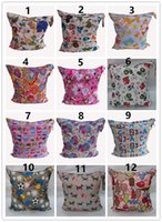 Wholesale DHL Circle Animal Print Diaper Wet Dry Bag Laundry Bag Cloth Diaper Bags Wet Swimsuit Bag by Melee WetBag cm